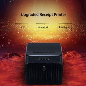 Image 3 - High Quality USB Printer Thermal Receipt Printers Qr Code Sticker Adhesive Printer 58mm UK Plug