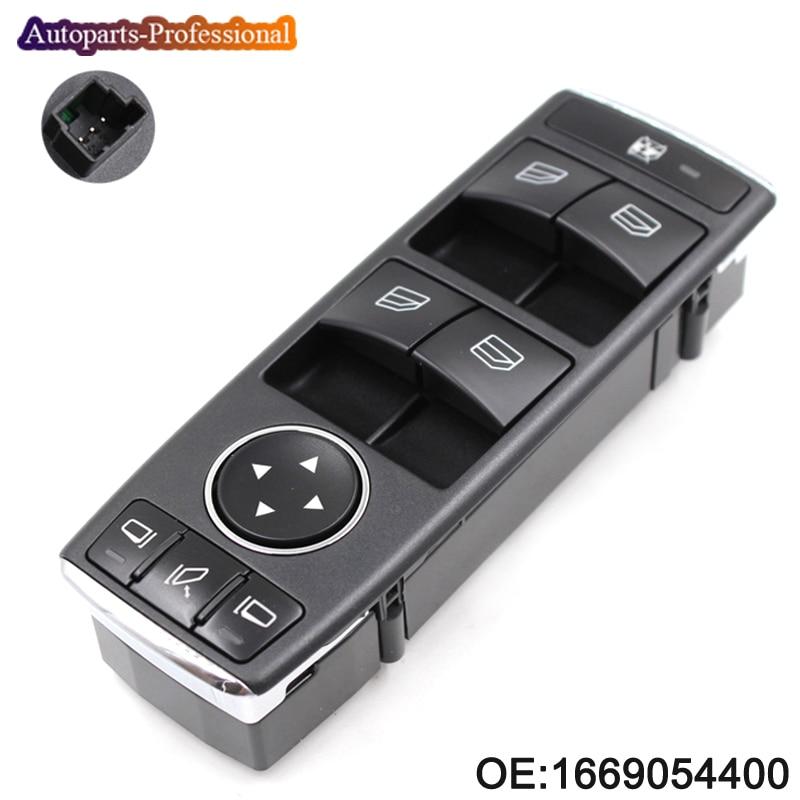 Nouveau commutateur de fenêtre électrique pour Mercedes ML350 ML500 ML63 G500 G550 G55 1669054400 commutateur de miroir de fenêtre de porte