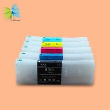 Winnerjet 5 COLOR 700ml T6521-T6525 Empty refill ink cartridge for FujiFilm DL600 printer