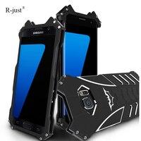 For SAMSUNG Galaxy S7 Edge Case Original Simon Thor Series IRON MAN Batman Metal Aluminum Shell