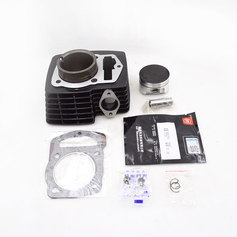 High Quality Motorcycle Cylinder Kit For Haojue Suzuki HJ125K-20 HJ135 HJ 125 125cc Engine Spare Parts high quality motorcycle cylinder kit for