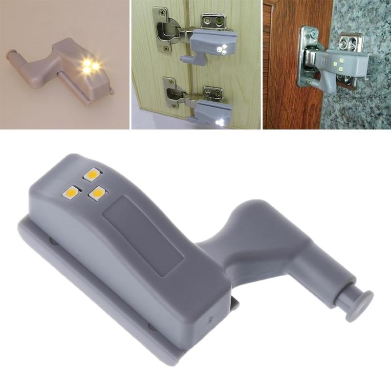 Dls * Hardware 1 Pc Universal Schrank Schrank Scharnier Led Sensor Licht 0,25 W Für Küche Schlafzimmer