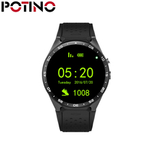 "POTINO KW88 Android 5.1 Smart Watch Phone MTK6580 1.39"" 400*400 Screen 2.0MP Camera Smartwatch for iphone Xiaomi"