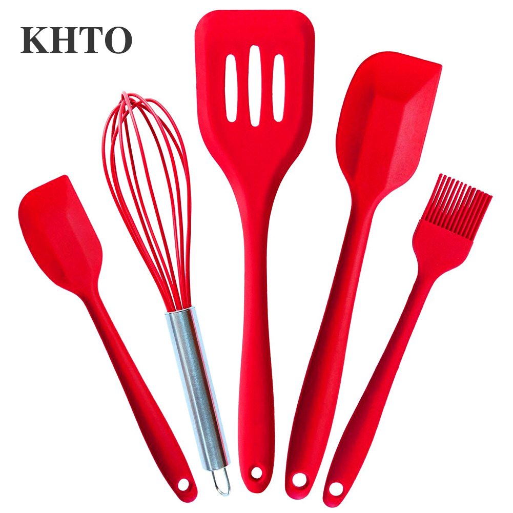 Khto approved silicone cooking tools silicone kitchen for Utensilios de cocina kitchen