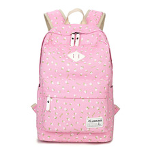 Women Canvas Backpacks For Teenage Girls Travel Rucksack Preppy Style Student School Bags Floral Printing Backpack Mochilas miyahouse colorful floral printed school backpack for girls canvas design women backpack casual female travel rucksack