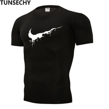 Newest 2019 Summer Men T-shirt Fashion Brand Logo Print Cotton T shirt Men Trend Casual Short sleeve