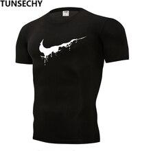 Newest 2019 Summer Men T-shirt Fashion Brand Logo Print Cott