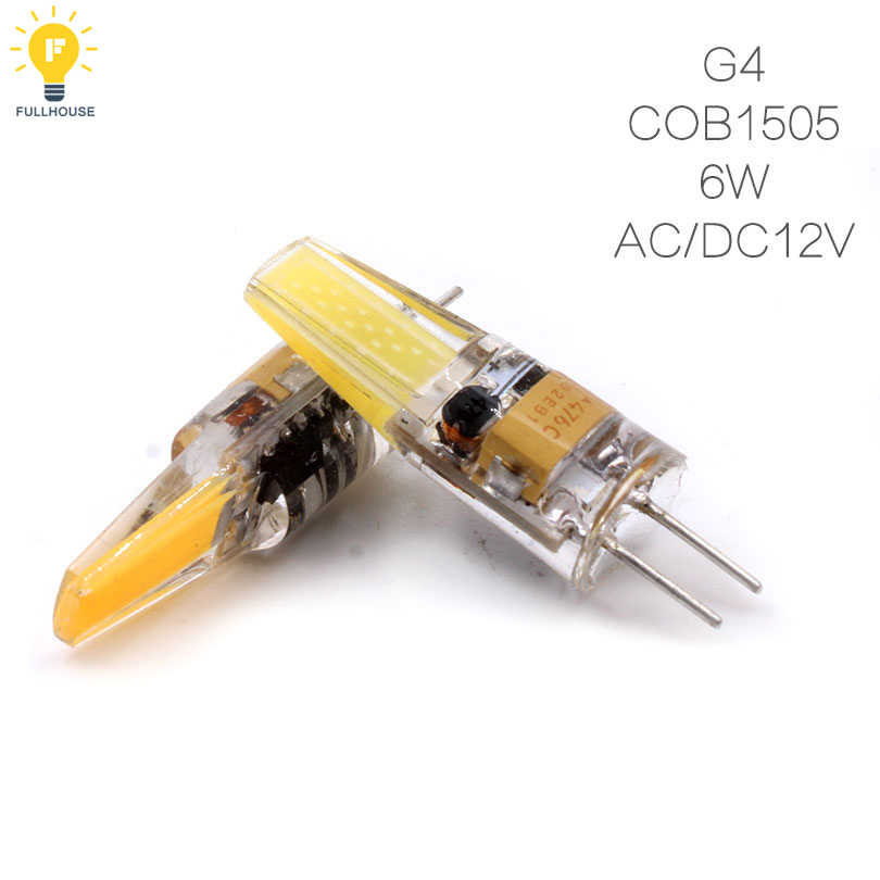 1505 AC12V 220V 6W 9W COB LED G4 G9 E14 led Bulb 360 Beam Angle led Bombillas Replace Halogen Chandelier Lights Mini G4 G9 LED