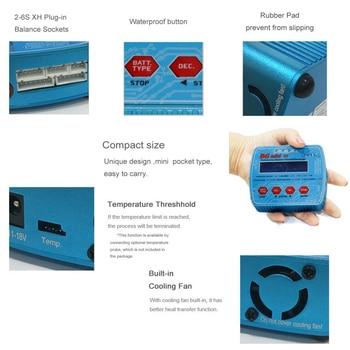 автомобили на продажу | Горячая Распродажа HTRC B6 Mini V2 70 Вт 7A Профессиональный цифровой RC Баланс Зарядное устройство Dis зарядное устройство для Lipo Lihv LiIon LiFe NiCd NiMH батар...