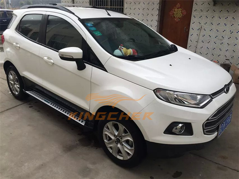 Auto Parts Coupons >> Aluminium side step running board Nerf bar FOR Ford EcoSport 2013 2014-in Pedals from ...