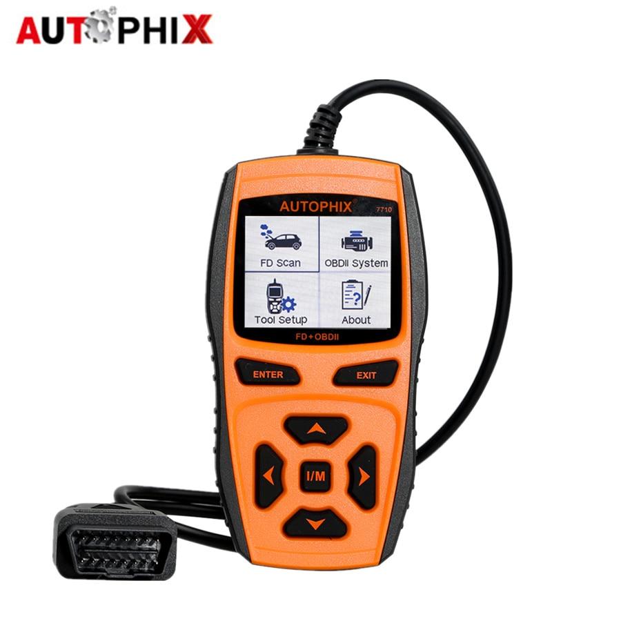AUTOPHIX 7710 OBDII EOBD OBD2 Code Read Scanner 7710 Scan Tool цена