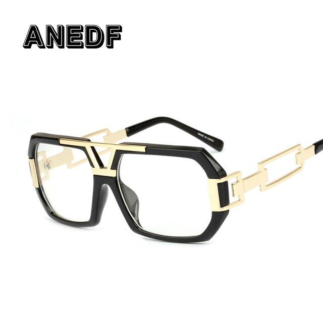 ANEDF 2018 Óculos Da Moda Quadros Olho de luxo Designer Homens Mulheres  Óculos Claros Óculos Óptica 717a1cb790