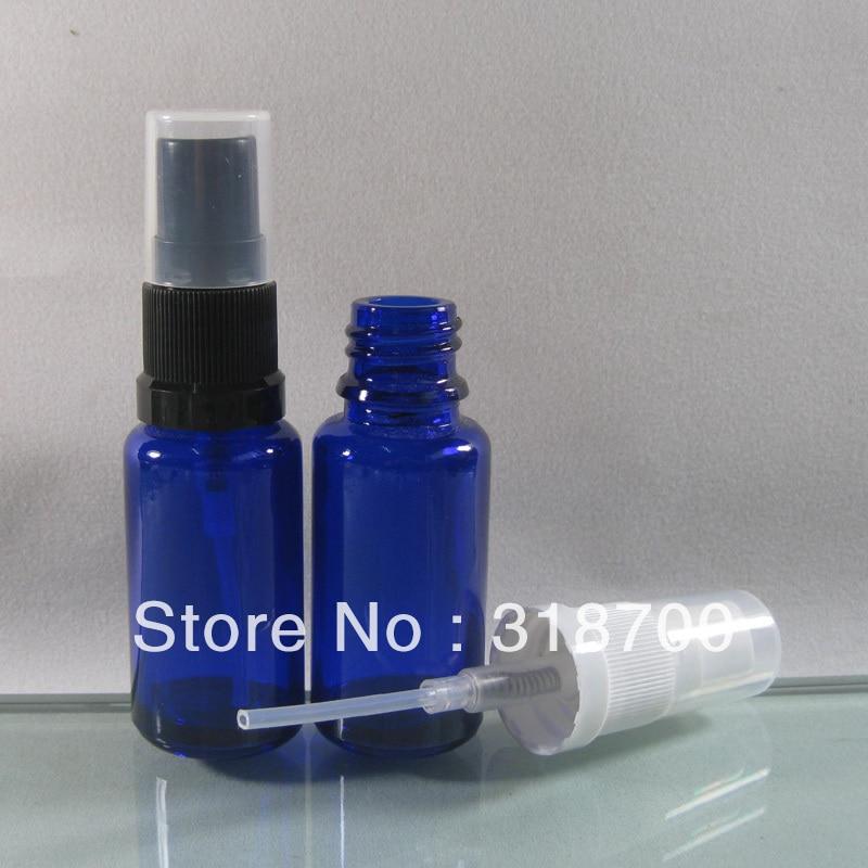 854117fdb66e ⊹200 Lot DIY 15 ml botella de perfume de cristal azul