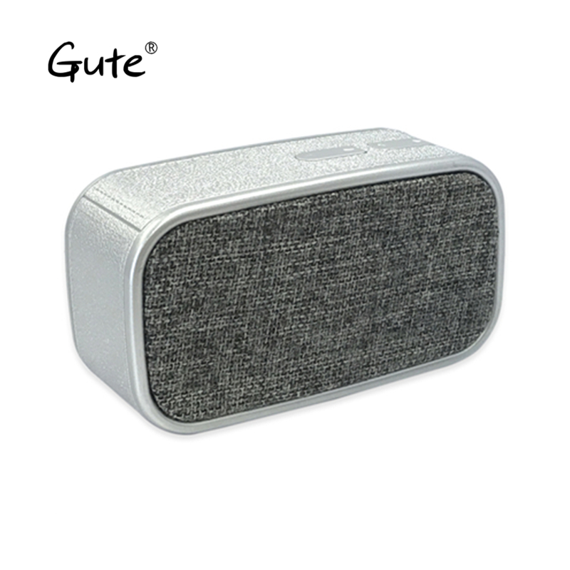 Gute fashion Fabric art Bluetooth speaker square portable handle woofer radio wireless caixa de som alto falante altavoz s5 fan