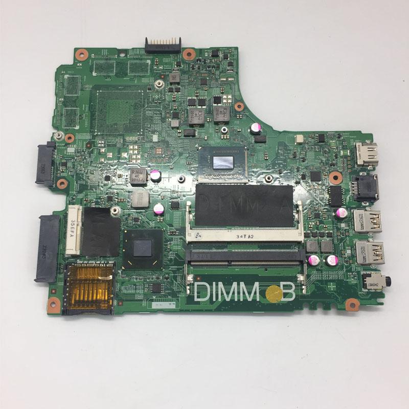 все цены на K EFU Laptop Motherboard CN-07GDDC Fit FOR Dell for INSPIRON 3421 PWB:5J8Y4 I3-2375M DP/N 07GDDC Mainboard онлайн
