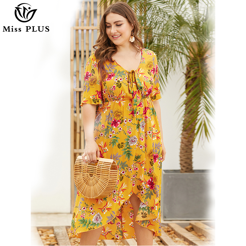 Plus-size dress