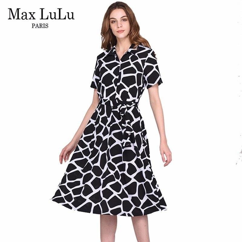 Max LuLu nouveau Designer de mode marque vêtements 3d Plaid femmes longues robes femme Dashiki dames robe de grande taille d'été style 4XL