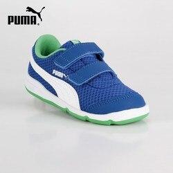 PUMA Stepfleex 2 Mesh V Inf - Sneakers con strappi bambino - blu
