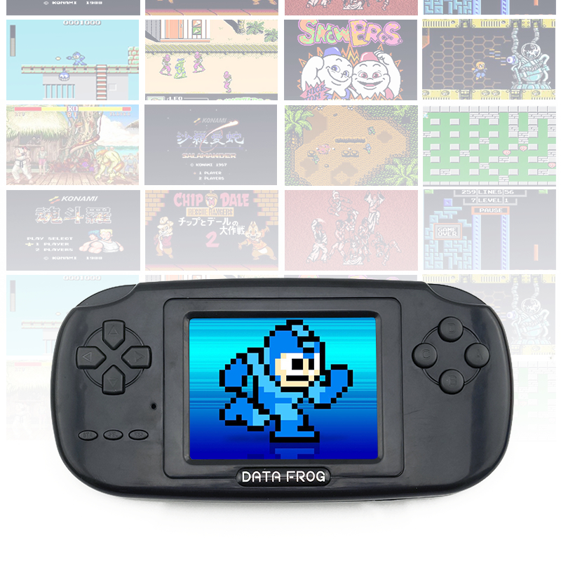 Childhood Classic Game With 168 Games 3.0 Inch 8-Bit PVP Portable Handheld Game Console Family TV Retro Video Consoles 1