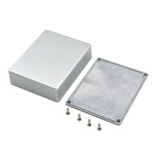 1590BB silver Effects Pedal Aluminum Stomp Box Enclosure  for Guitar pedal  box free shipping