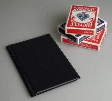 Aparecendo decks truques mágicos cartão magie deck aparecendo da carteira close-up ilusões truque adereços fase comédia