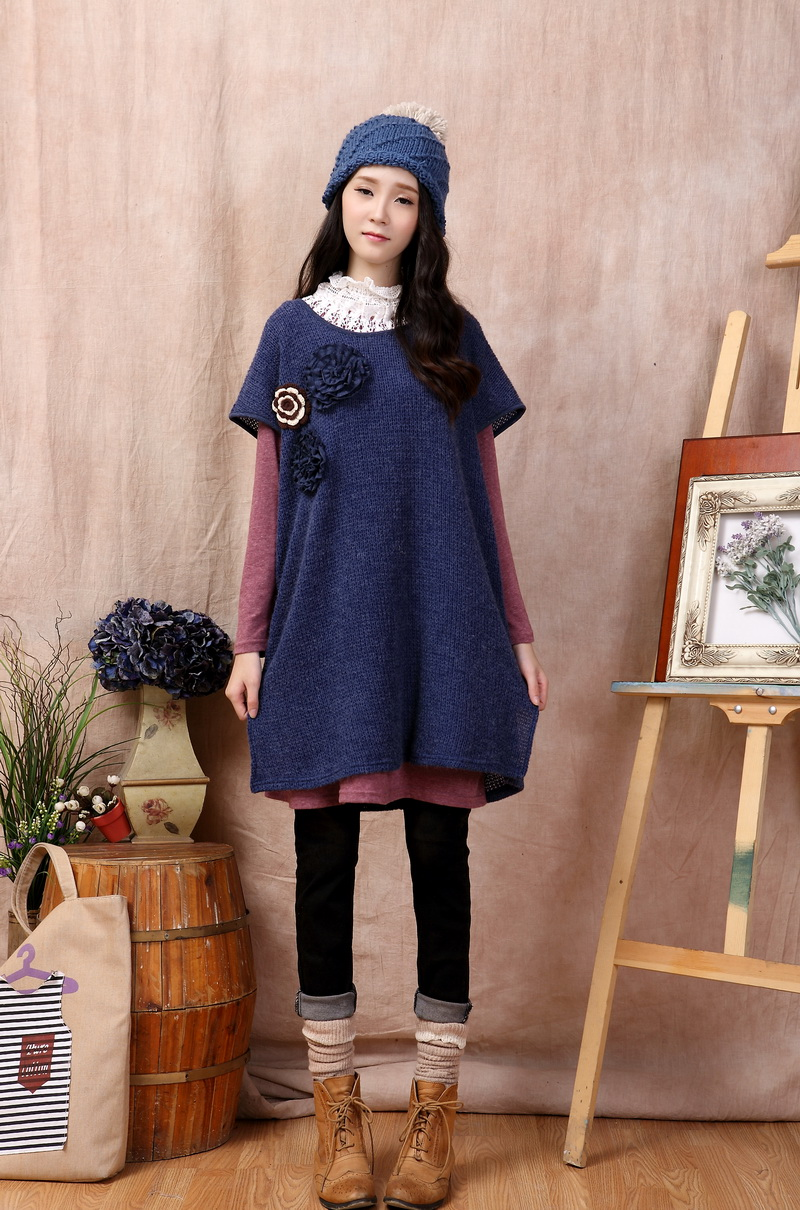 sweater tunic jack skellington tshirt hippie boho sequin fringe mori girl vestidos longos fall tweed vintage autumn winter dress