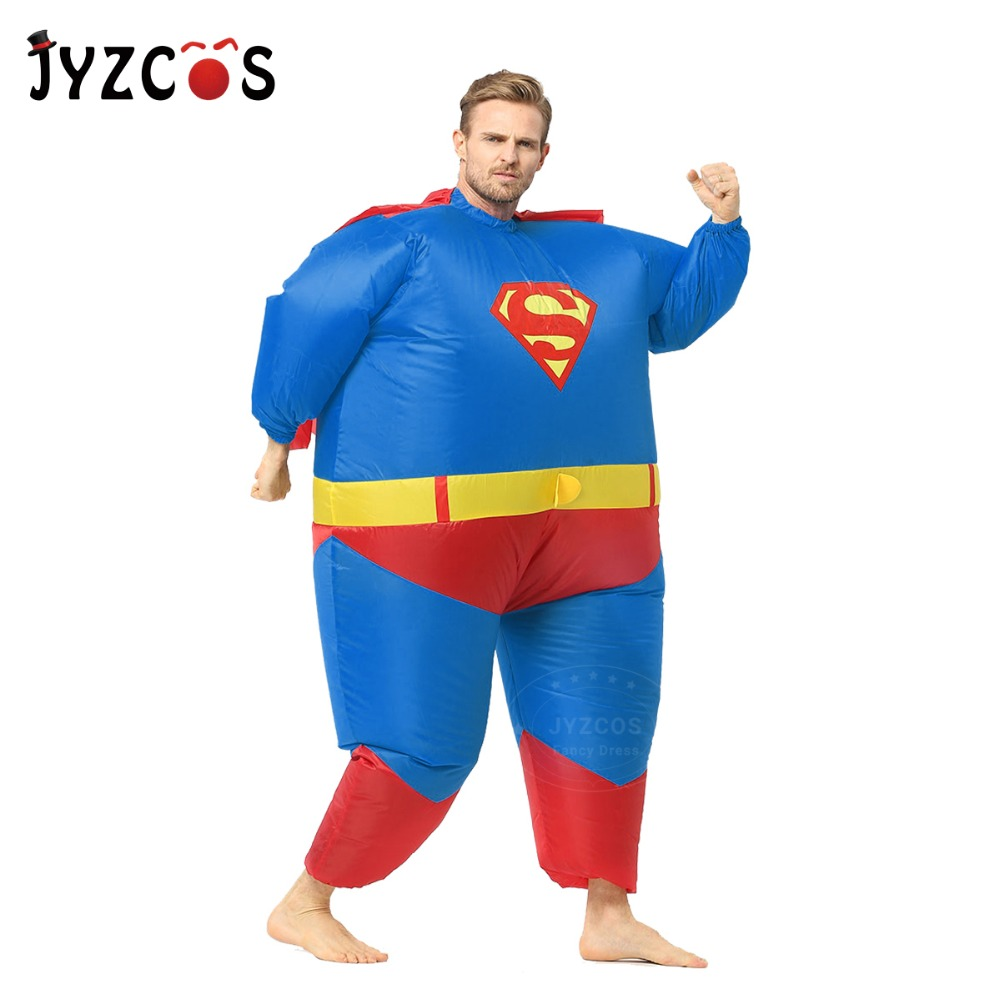 Adult Inflatable Superman Costume-1