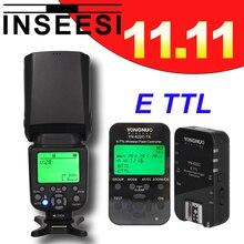INSEESI IN-586EX II Flash Speedlite + yongnuo yn622c kit TTL HSS Wireless Flash Trigger For Canon camera 5DMark 4 7D 5D 650D 60D
