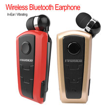 Mini Portable Wireless Bluetooth V4.0 Headset In-Ear Vibrating Alert Wear Clip Hands Free Earphone For Phone hot original fineblue f910 wireless bluetooth earphone headset in ear vibrating alert wear clip bluetooth earphone for phone