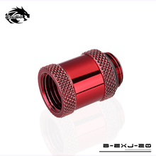 BYKSKI G1/4″ Female to Male Thread Straight Docking Seat Tube (Extend 20mm) Cooling Fitting M to F Lengthen 20mm Accessories