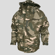Winter Waterproof Camo Brown Military Jacket