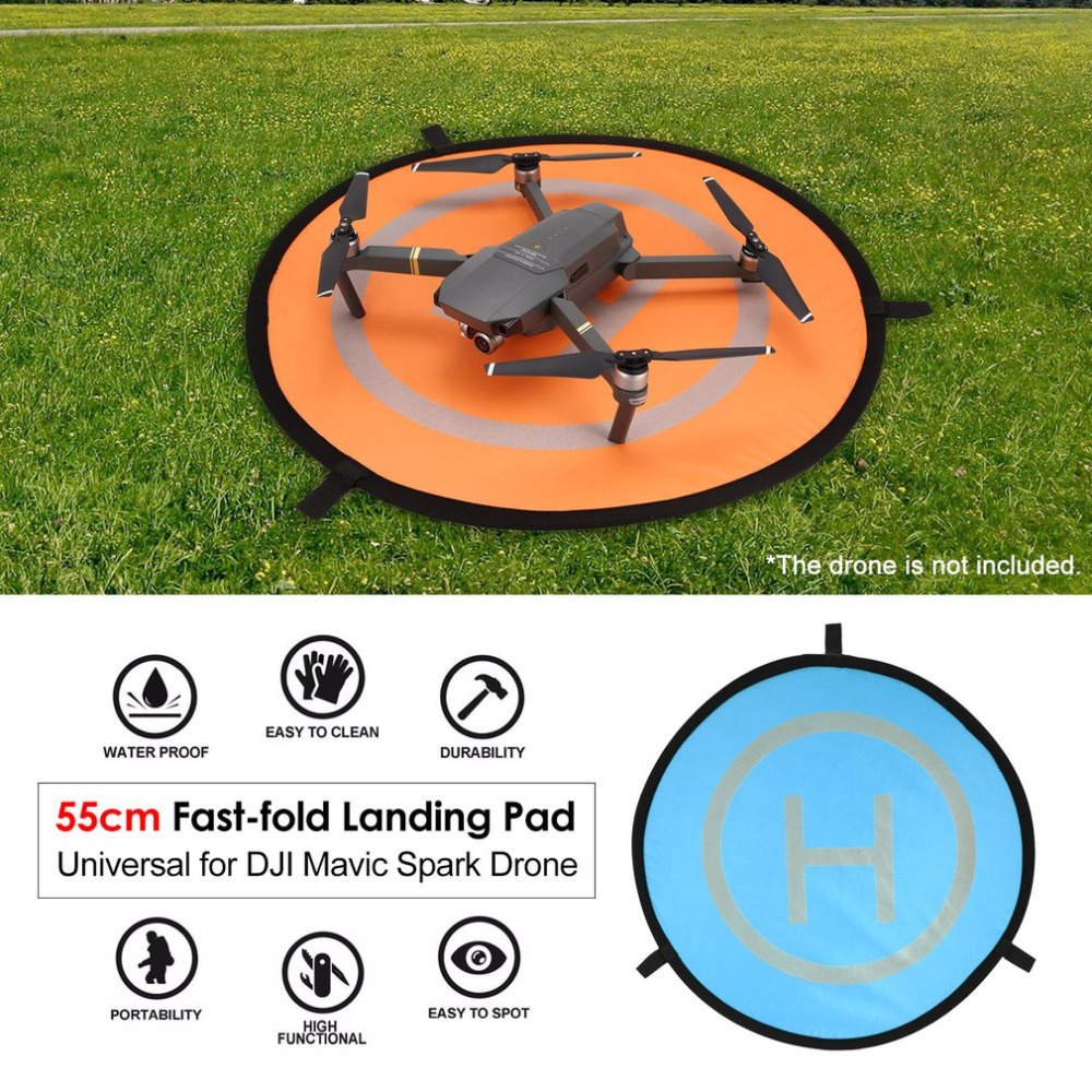 Foldable Landing Pad FPV Drone Parking Apron Pad 55cm Fast-fold For Mavic 2 Pro Mavic Air Spark Phantom 4 Racing Drone Accessory