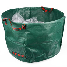 79*42cm Garden Storage Bag Planting PE Growing Bags Grass Leaves Cleaning Bag