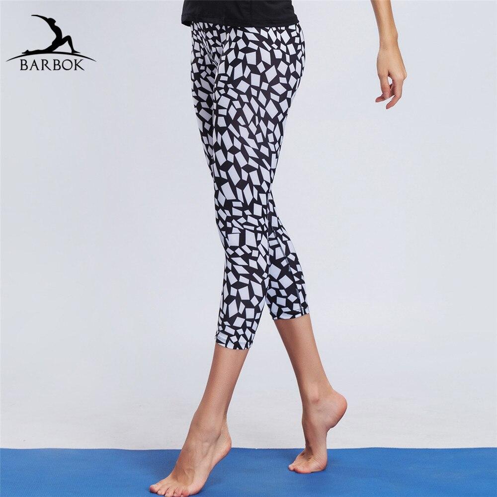 7e639593fc50 BARBOK női jóga nadrág tornaterem edzés szűk gimnasztikai ruházat ...