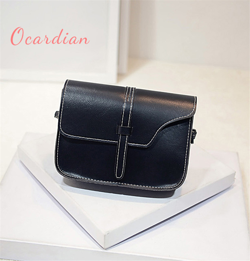 OCARDIAN bolsos mujer pouch Women Girl Shoulder Bag Faux Leather Satchel Crossbody Tote Handbag sale product Casual#30 2017 Gift kai yunon women girl shoulder bag faux leather satchel crossbody tote handbag aug 24