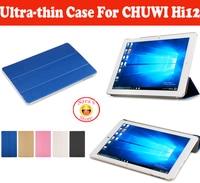 Популярный высококачественный защитный чехол из искусственной кожи для планшета CHUWI HI12 12 12 дюймов  Чехол Для Hi 12 шт.  бесплатная доставка с 4 ...