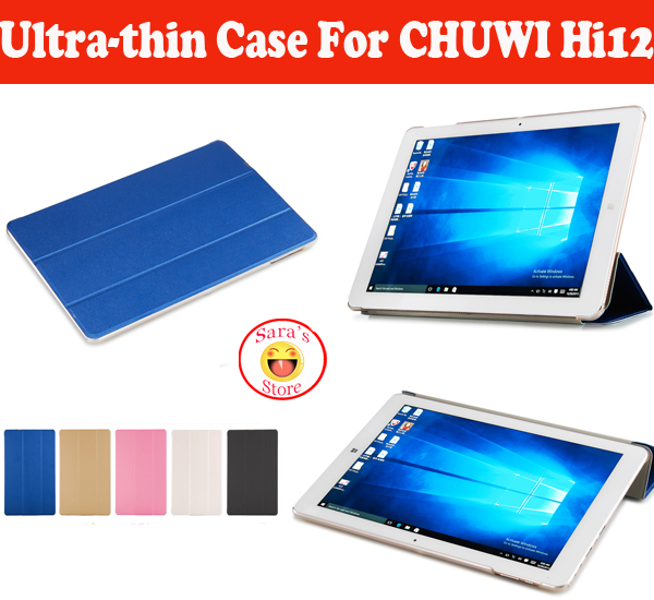 Hot Selling And High Quality PU Protective Case Cover For CHUWI HI12 12 Tablet ,Case For Hi 12 PC Free Shipping With 4 Gifts