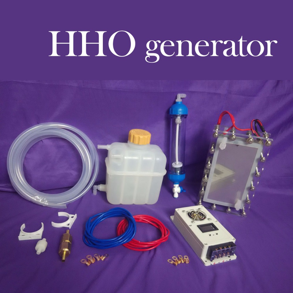 Automotive Water Fuel HHO Generator Suite To Enhance Power Saving System To Reduce Emissions