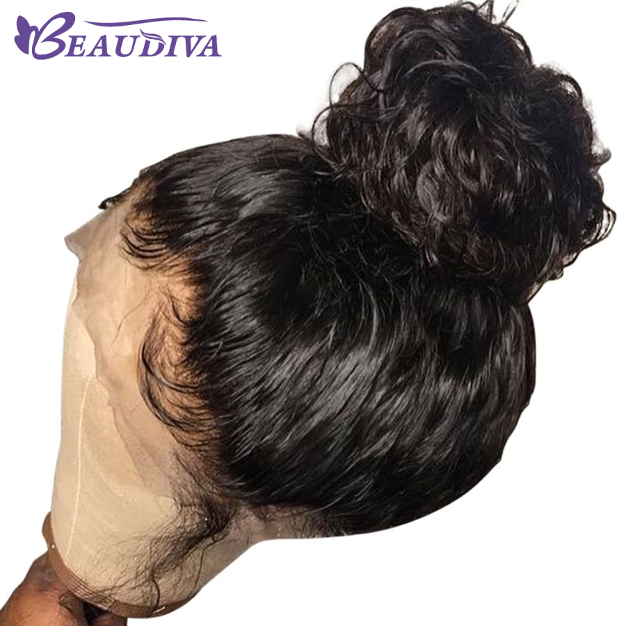 BEAUDIVA Lace Front Human Hair Wigs Brazilian Body Wave Human Hair 4x4 Lace Front Wigs With