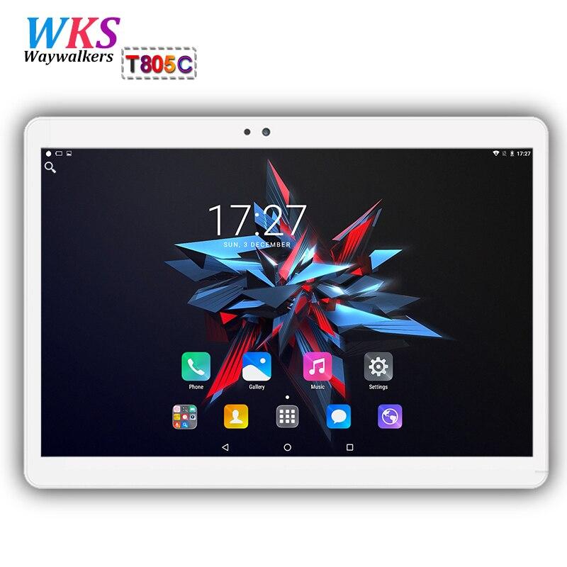 цены на Free shipping 10 inch tablet PC Octa Core Android 7.0 4GB RAM 64GB ROM 8 Core Dual SIM Card Call phone gift MID tablets 10 10.1 в интернет-магазинах