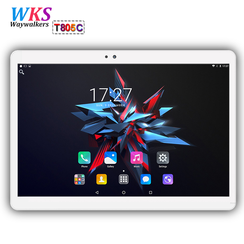 Promotions 10 inch tablet PC Octa Core Android 7.0 4GB RAM 64GB ROM 8 Core Dual SIM Card Call phone gift MID Tablets pcs 10 10.1 created x8s 8 ips octa core android 4 4 3g tablet pc w 1gb ram 16gb rom dual sim uk plug