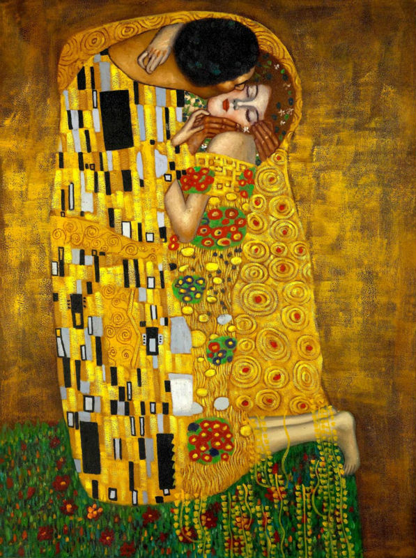 Klimt The Kiss Wallpaper Klimt Wallpaper | www....