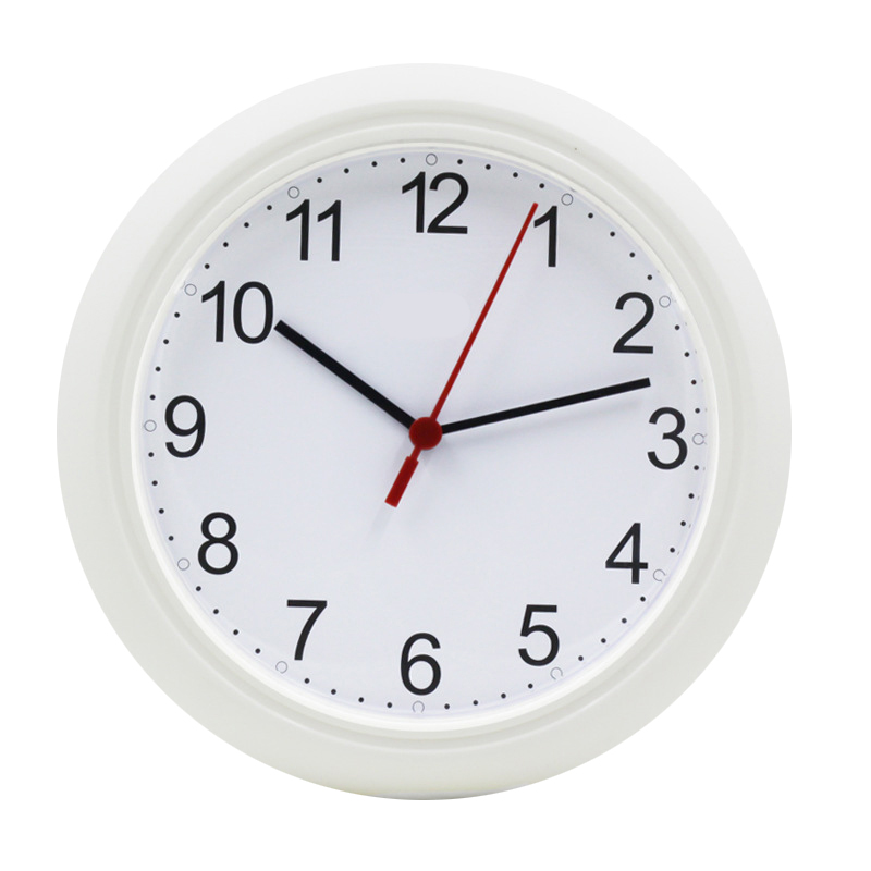 10'Inch Wall Clocks Home Decor 25Cm Digital Quartz Uhr Plastic Reloj De Pared Wanduhr Simple Transparent Children Clocks