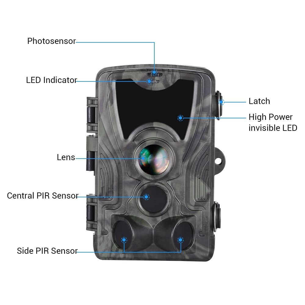 Image 4 - BOBLOV охотничья камера 16MP Trail ночная версия камеры Ip65 камера наблюдения дикой природы-in Камеры для охоты from Спорт и развлечения