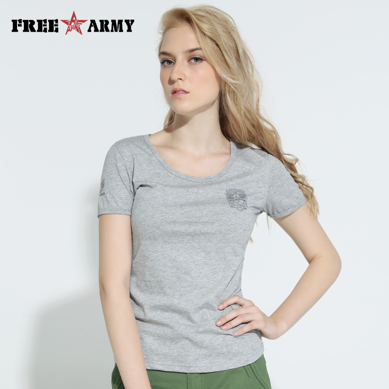 Promotion Woman T-Shirts Kvinna Casual Summer All-Match Kortärmad Basic T-shirt Solid 3 Colors Lycra Top T-shirts Kvinnor