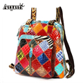 100% Geinuine Leather Backpack New Fashion Colorful Women Snakeskin Lady Backpacks Lady Shoulder Bags Cowhide Ladies Shell Bag