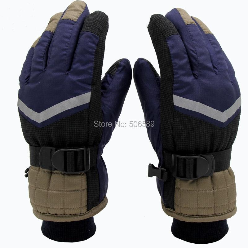 free shipping childrens skiing gloves hiking biking gloves yb241-w warm keep S M