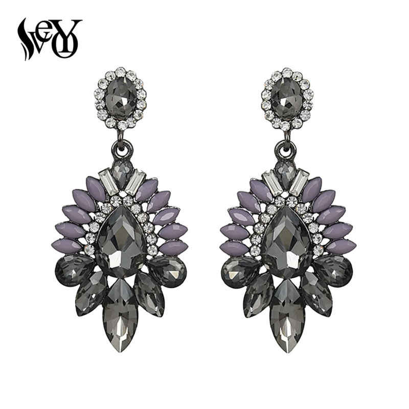 VEYO Acrylic Crystal Drop Earrings For Woman Fashion Jewelry High Quality Brincos Pendientes