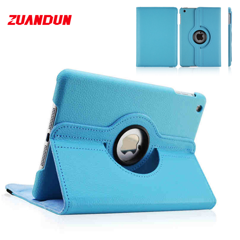 Flip Cases For iPad 2 3 4 Case 360 Rotating Litchi PU Leather Folio Stand Cover For iPad 4 Case Smart Auto Wake Sleep Shell lichee pattern protective pu leather case stand w auto sleep cover for google nexus 7 ii white