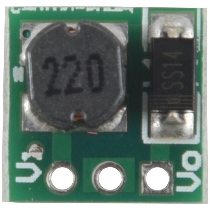 0.9-5V To 5V DC-DC Step-Up Power Module Voltage Boost Converter Board 1.5V 1.8V 2.5V 3V 3.3V 3.7V 4.2V Green